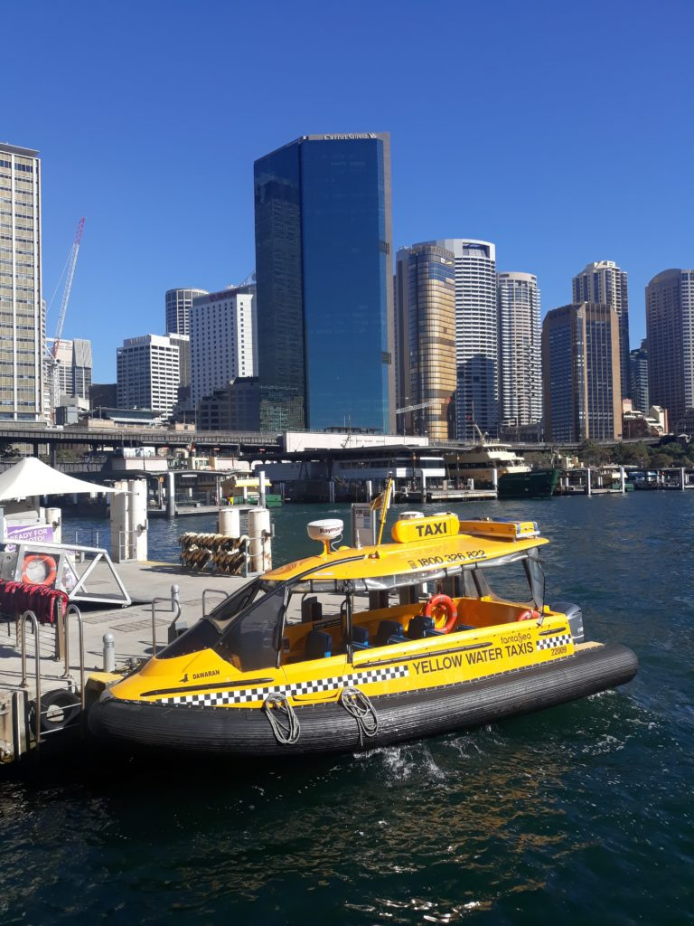 Modern Day Water Taxi