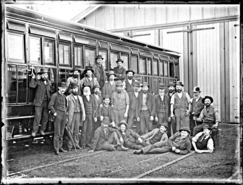 Railway 1886
